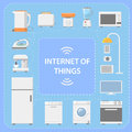 IOT. Internet of Things. Innovative technology. Vector Royalty Free Stock Photo