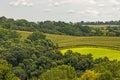 Iowa Landscape Royalty Free Stock Photo