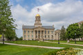 Iowa Old Capitol Building Royalty Free Stock Photo