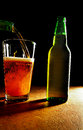 IPA craft beer pour Royalty Free Stock Photo