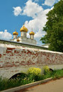 Ipatiev monastery in kostroma russia and orthodox holy trinity cathedral the city of central Stock Photography