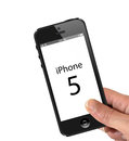 Iphone 5 Stock Photo