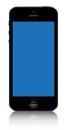 Iphone 5 black vector