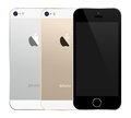 Iphone s the latest illustration in available colors Stock Images