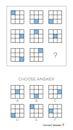 IQ test. Choose answer