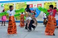 Iquitos peru world environment day silfo alban school in department of loreto Royalty Free Stock Photos
