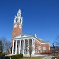 Ira allen chapel uvm burlington vermont in university of in downtown usa Stock Image
