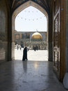 Iran imam reza shrine in mashad is a complex wich contains the mausoleum of imam reza the ieght imam of twelvers it is the largest Royalty Free Stock Photos