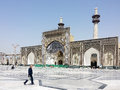 Iran imam reza shrine in mashad is a complex wich contains the mausoleum of imam reza the ieght imam of twelvers it is the largest Royalty Free Stock Image