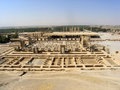 Iran: View of ancient city Persepolis Stock Photos