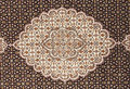 Iranian carpets rugs nice design Royalty Free Stock Image