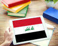 Iraq National Flag Government Freedom LIberty Concept Royalty Free Stock Photo