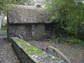 Ireland bunratty folk park old traditional cottage in the is represented in the th century the environments of the were Royalty Free Stock Photography
