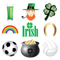 Ireland Icons 2 Royalty Free Stock Photography