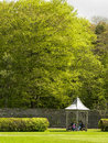Ireland killarney national park gardens of the muckross house Royalty Free Stock Photography