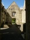 Ireland killarney national park the muckross abbey ruins Stock Image