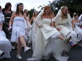 Ireland's Bridal Fun Run Stock Images
