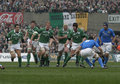 Ireland V Italy,6 Nations Rugby Royalty Free Stock Images