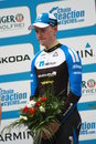 Iren sam bennett d by garmin velothon berlin germany Royalty Free Stock Photos