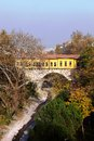 Irgandi bridge in bursa turkey Royalty Free Stock Images