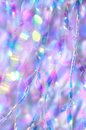 Iridescent scatter background close up of decorative Stock Image