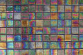 Iridescent Tile Royalty Free Stock Photo