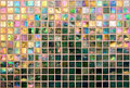 Iridescent Tile Wall Royalty Free Stock Photography