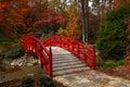 Iris Bridge In The Fall