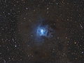 Iris nebula Royalty-vrije Stock Afbeelding