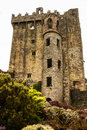 Irish castle of blarney famous for the stone of eloquence ire ireland europa Royalty Free Stock Photo