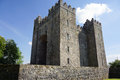 Irish castle bunratty in bunratty ireland Stock Images