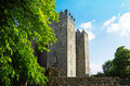 Irish castle bunratty in bunratty ireland Stock Photography