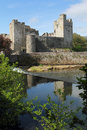 Irish castle of cahir in morning light tipperary county ireland Stock Image