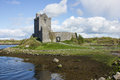Irish castle a castler by a lake in ireland Stock Photos