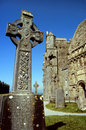 Irish celtic cross Stock Images