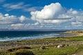 Irish coast of Burren Royalty Free Stock Image
