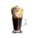 Irish coffee cocktail Royalty Free Stock Photo