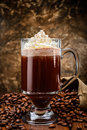 Irish coffee Royalty Free Stock Photo