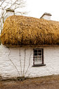 Irish cottage in countryside old village Royalty Free Stock Image