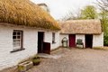 Irish cottage in countryside old village Royalty Free Stock Photography