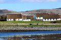 Irish cottage houses in Burren Royalty Free Stock Images