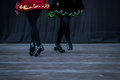 Irish Dancer Legs Royalty Free Stock Photo