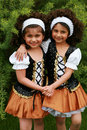 Irish Dancers Royalty Free Stock Photo