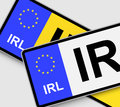 Irish Licence Plates