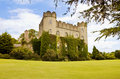 Irish medieval castle at Malahide, Dublin Royalty Free Stock Photo