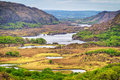 Irish mountains of Killarney pass Stock Image