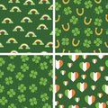 Irish patterns Royalty Free Stock Image