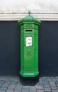 Irish Postbox Royalty Free Stock Photo