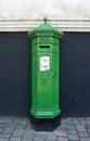 Irish Postbox Royalty Free Stock Photo