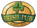 Irish pub Royalty Free Stock Images